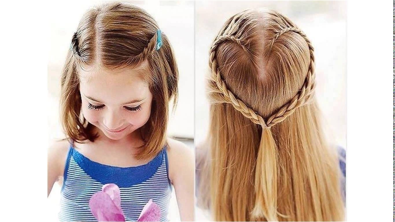 cute hairstyles for girls with short hair for school