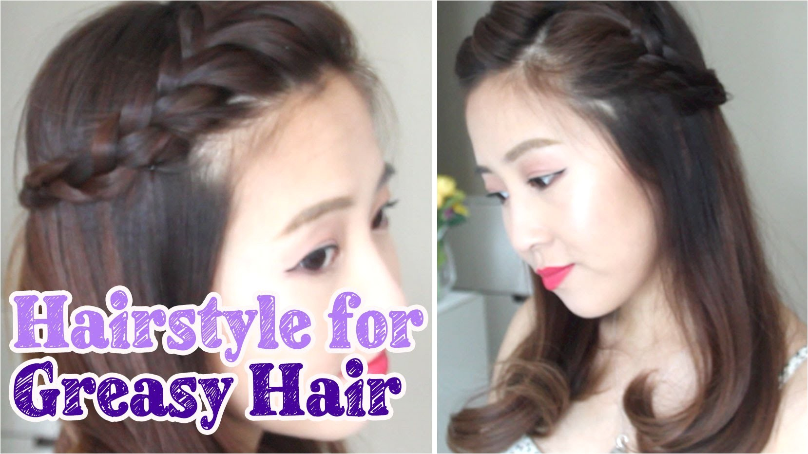 daily hairstyles for hairstyles for oily hair hairstyle for greasy hair days youtube