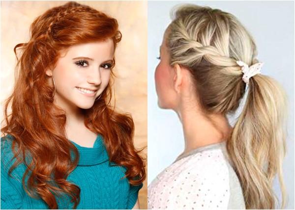 cute hairstyles school