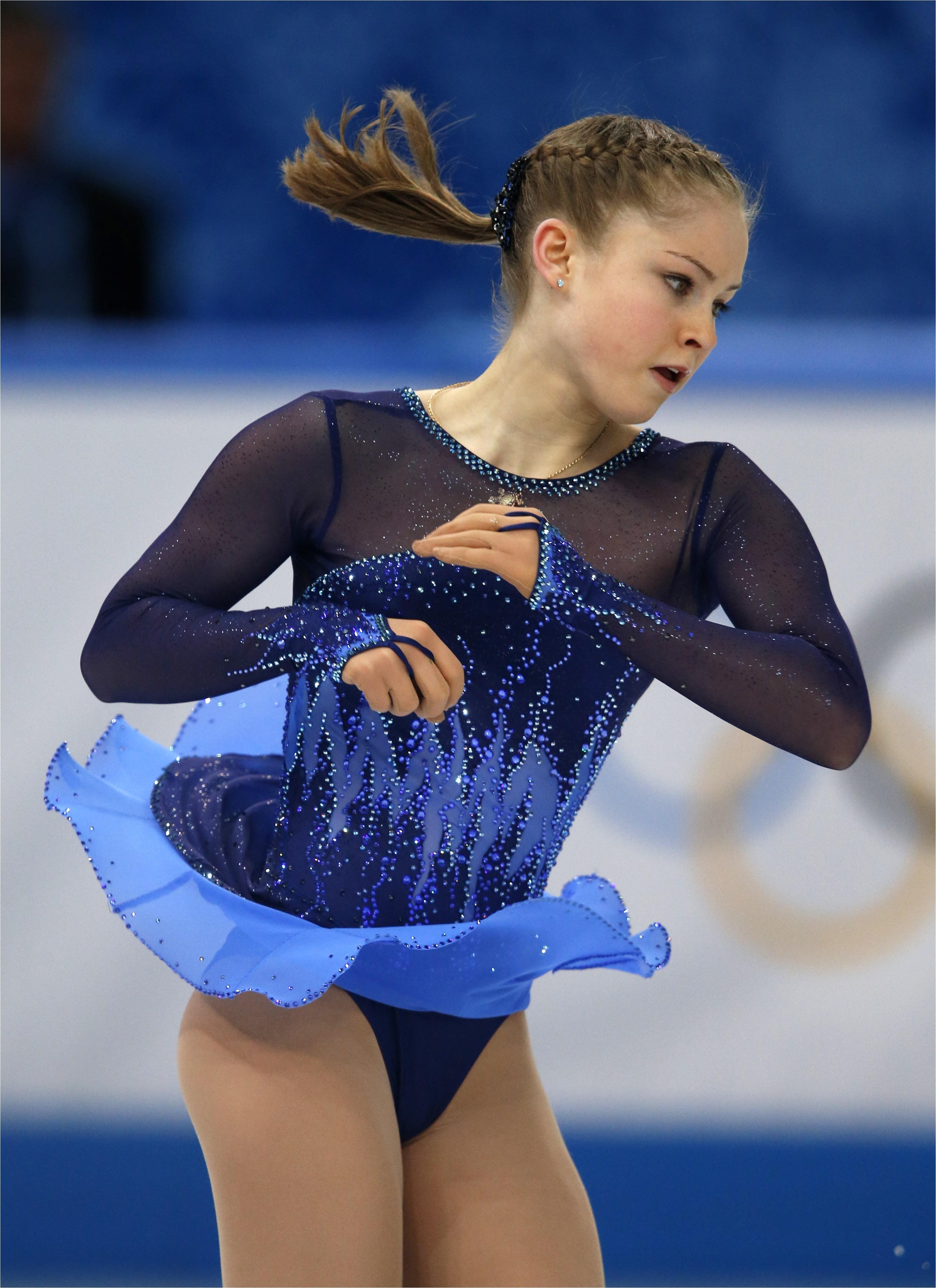 olympics figure skating hair