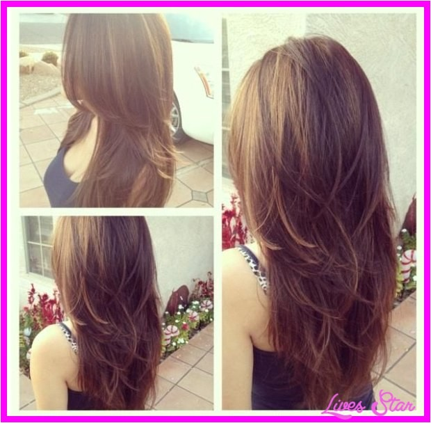 cute layered haircuts for medium long hair