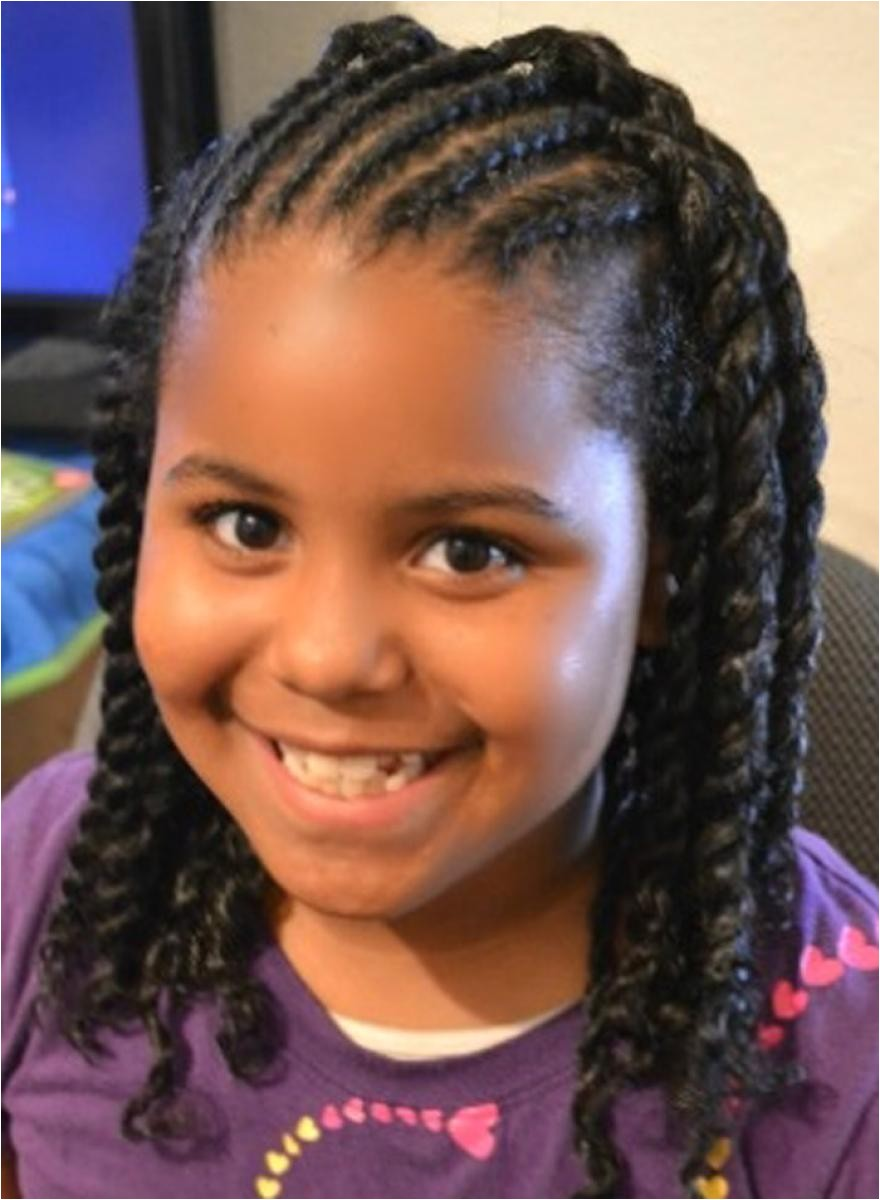 Cute Hairstyles for Little Black Girls with Long Hair 25 Latest Cute Hairstyles for Black Little Girls