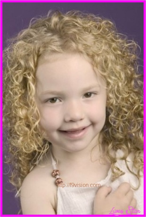 short haircuts for little girls with thick curly hair