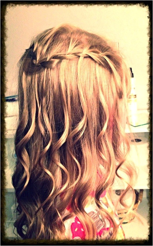 very cute hairstyles for curly hair little girls for party