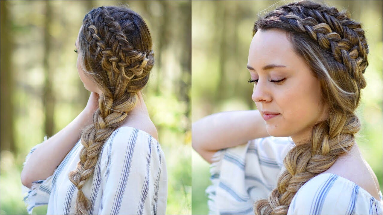 Cute Hairstyles for Little Girls with Short Hair Awesome Double Dutch Side Braid Diy Back to