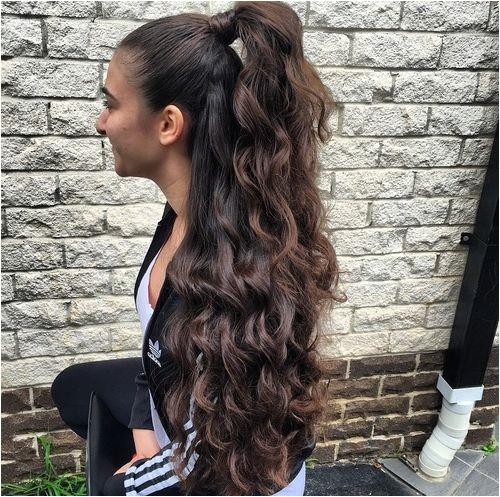 easy hairstyles long thick hair