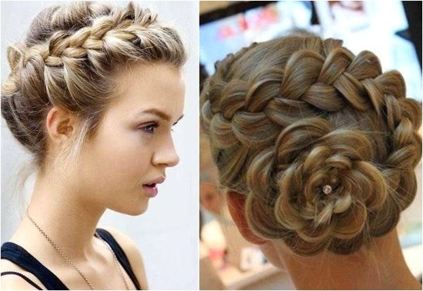 What are some good hairstyles for a military ball