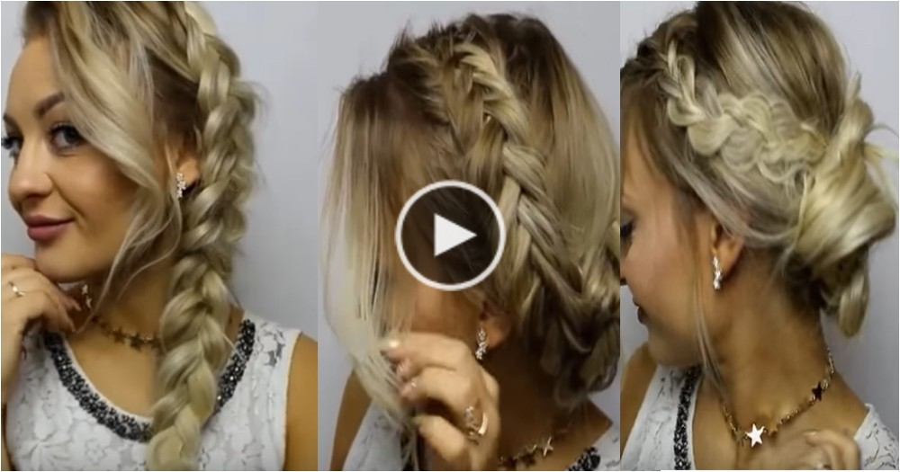 Cute Hairstyles for New Years Eve Cute New Years Eve Hairstyles Plete Video Tutorial