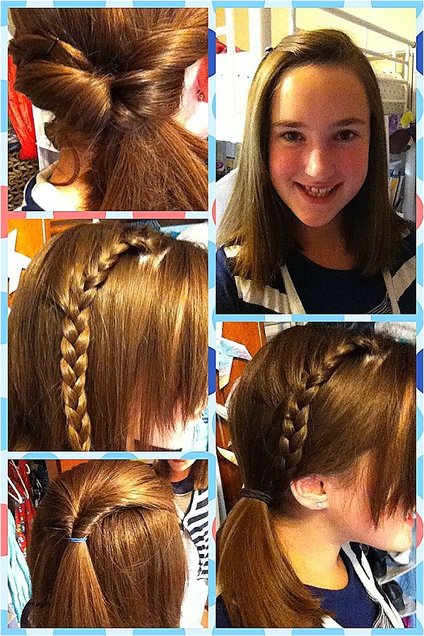 cute and easy hairstyles for picture day