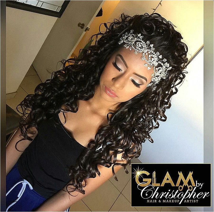 curly hairstyles for quinceaneras