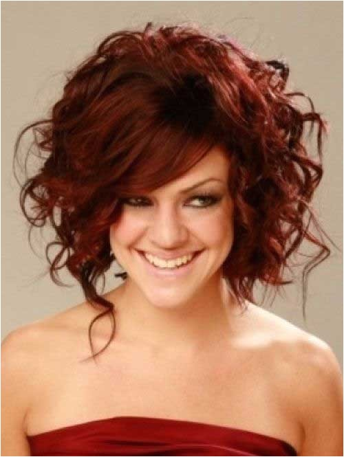 12 cool short red curly hair