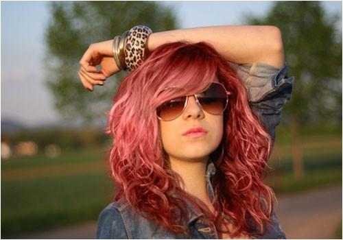 cute hairstyles for red hair