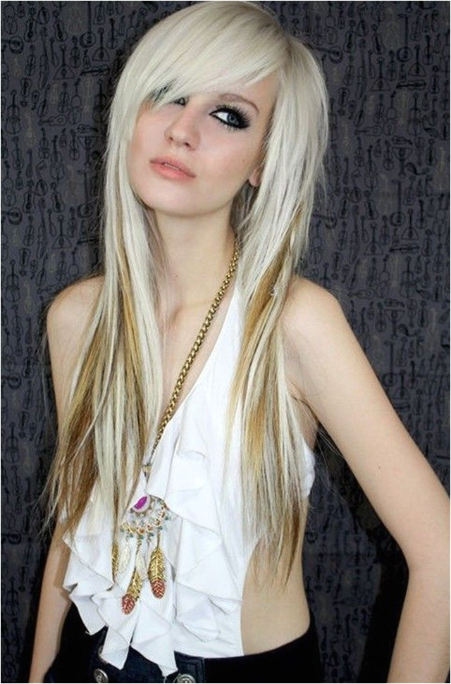 cute emo hairstyles for girls being different
