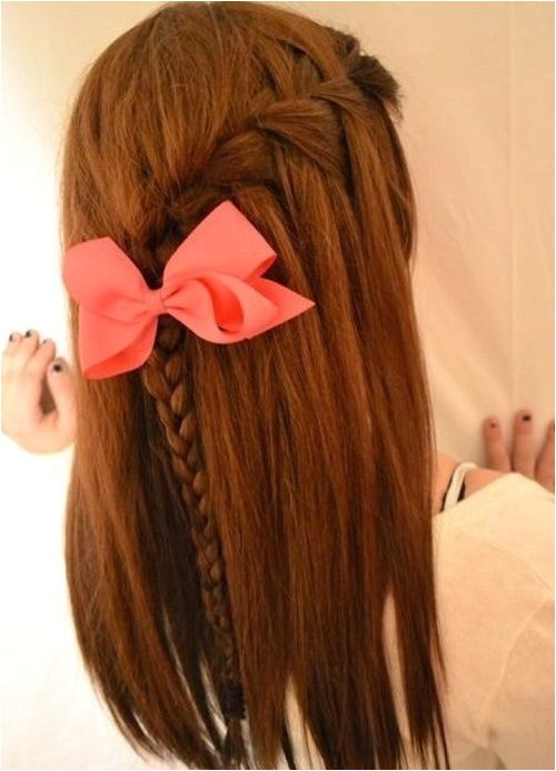 cute hairstyles for middle school 2016