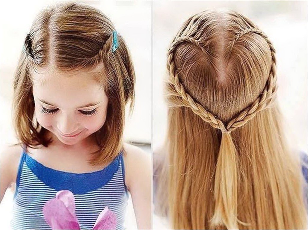 ideas for cute hairstyles for girls with short hair for school