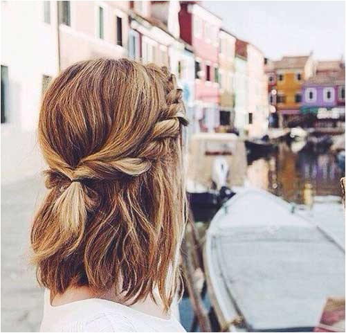 Cute Hairstyles for School with Short Hair 25 Cute and Easy Hairstyles for Short Hair
