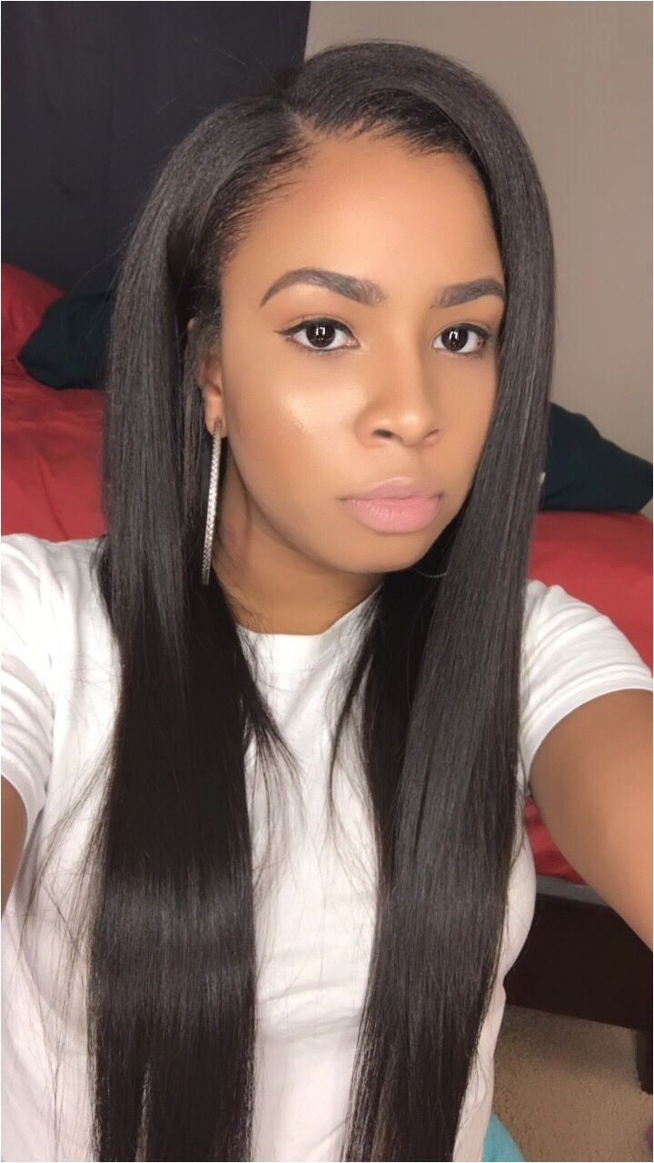 cute hairstyles for sew ins