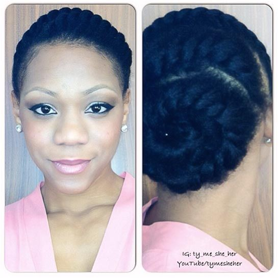 easy natural hairstyles