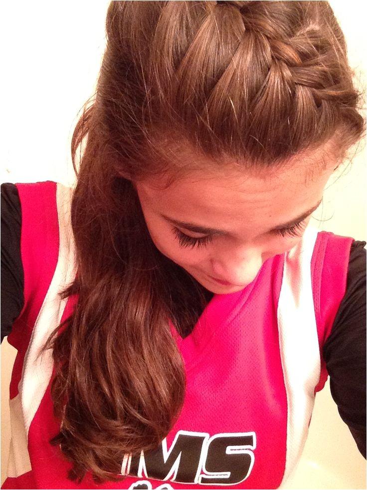 game day hair