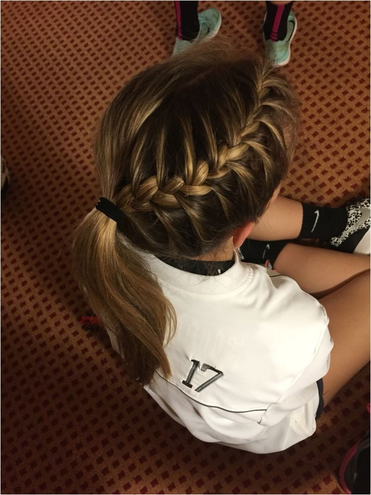 volleyball hair