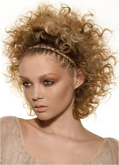 gorgeous braided hairstyles for super curly hair
