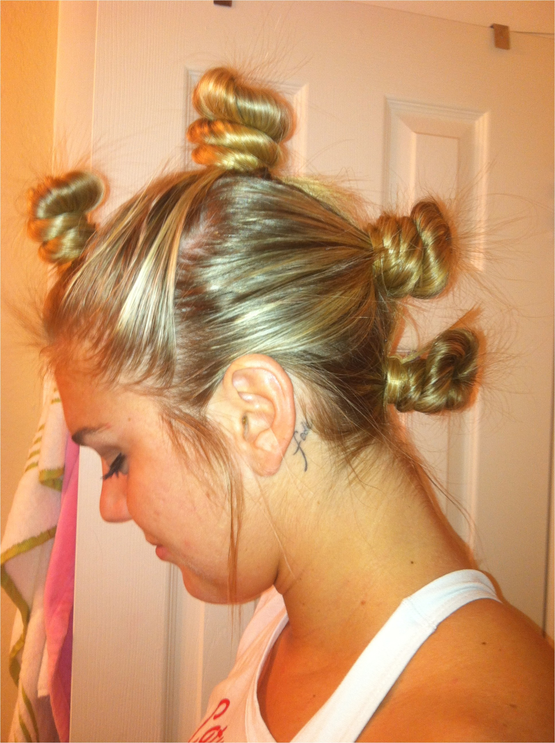 hairstyles for softball