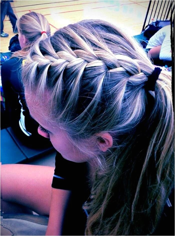 Cute Hairstyles for Volleyball Players 2