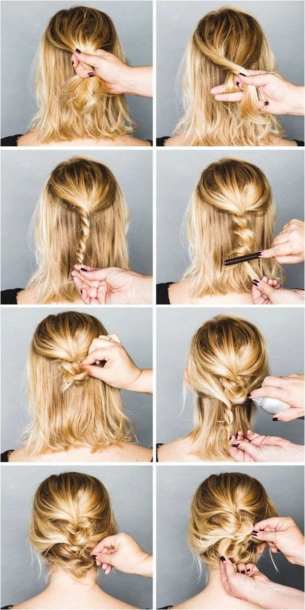Cute Hairstyles In 5 Minutes 35 Very Easy Hairstyles to Do In Just 5 Minutes or Less