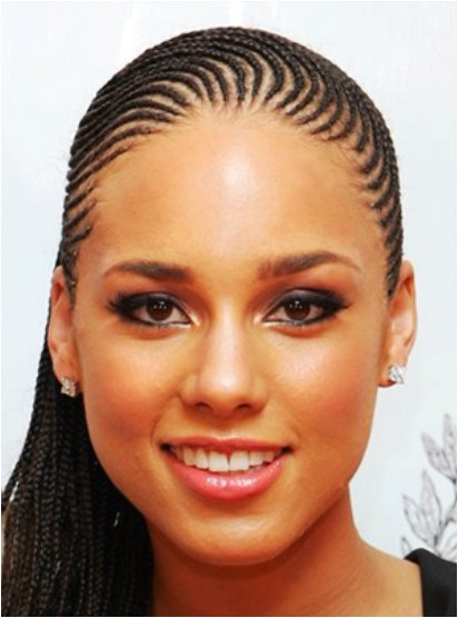 cute micro braids hairstyles