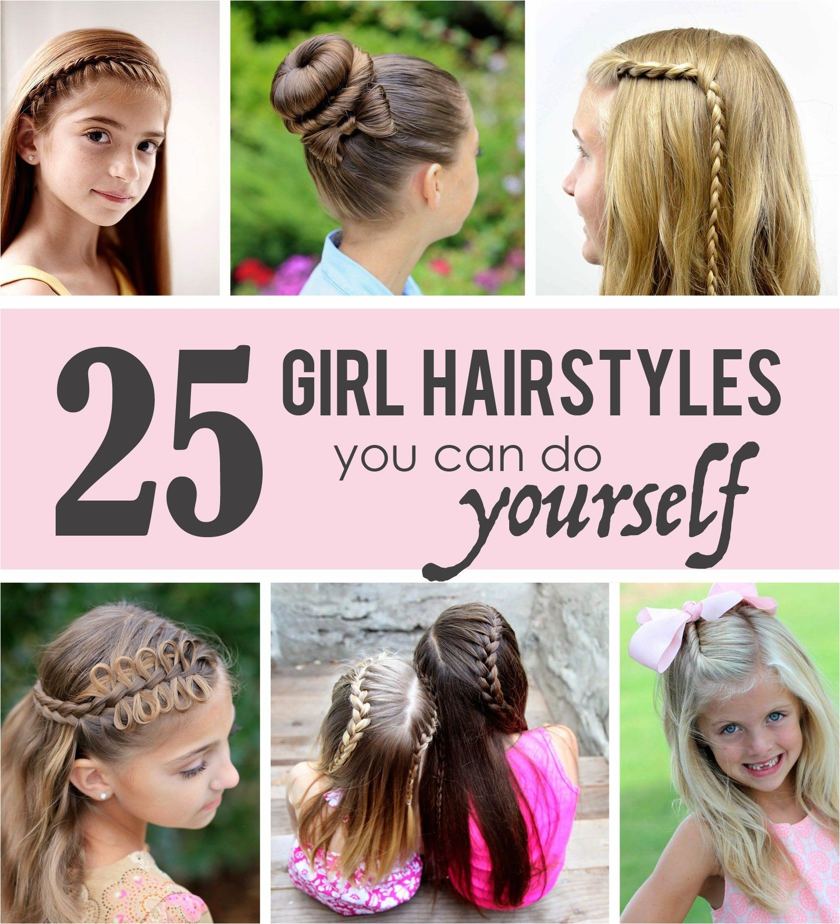 cute hairstyles kids can do