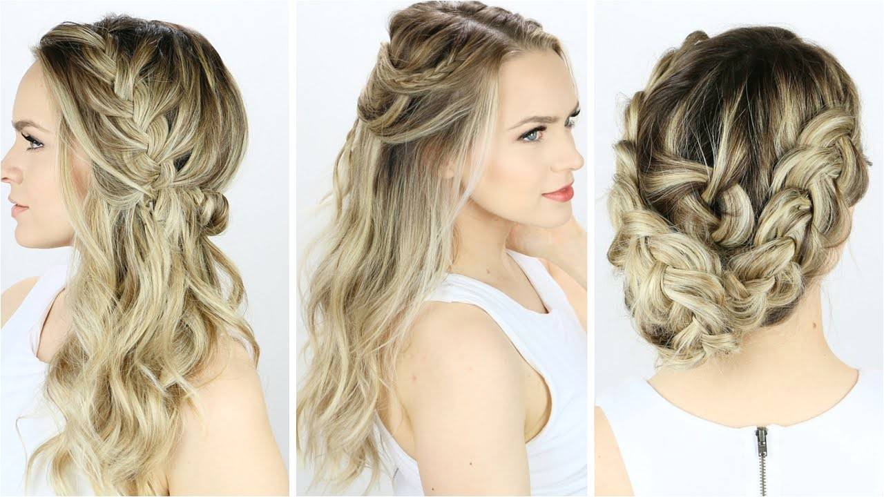 easy hairstyles to do on yourself for beginners