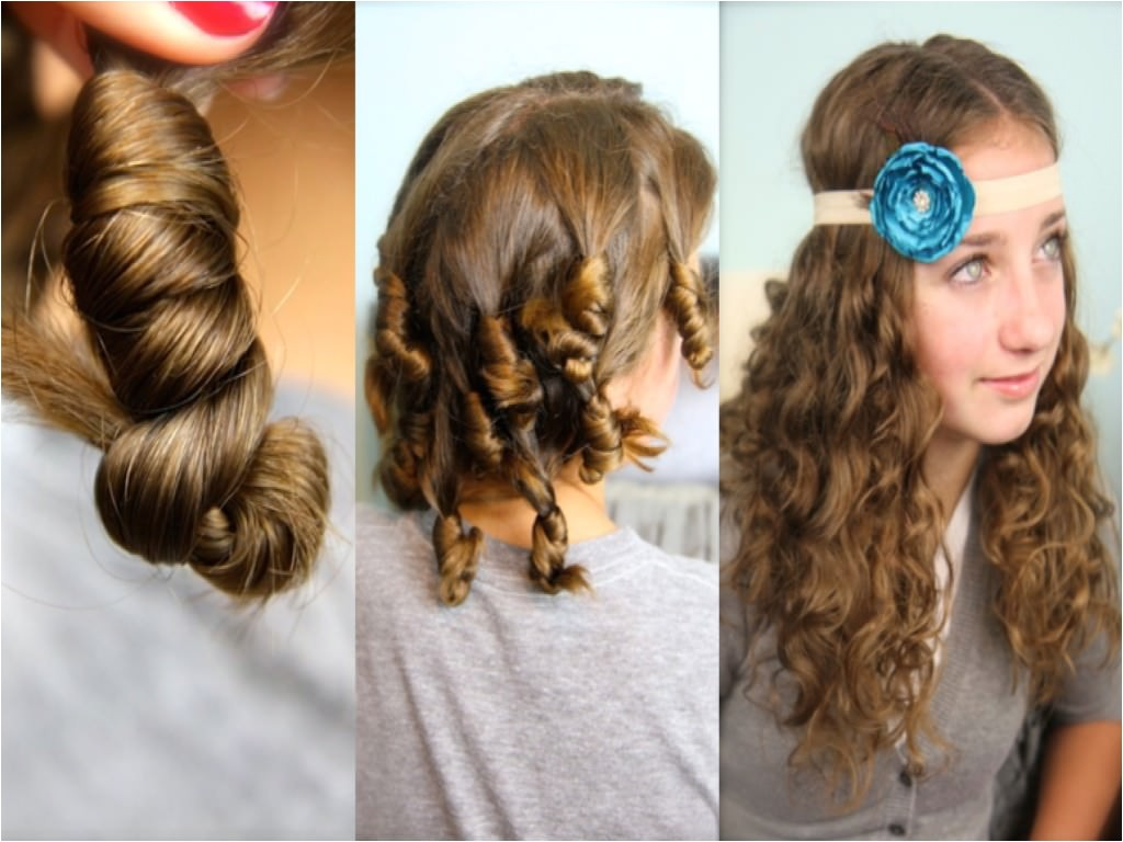 lazy day hairstyles for school