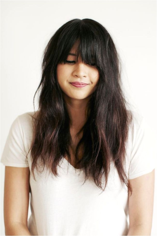 Cute Hairstyles to Do with Long Hair Easy to Do Party Hairstyles for Long Black Hair with Bangs