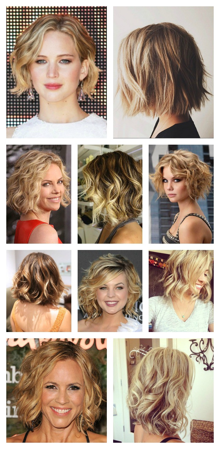 how to curl short hair with straightener