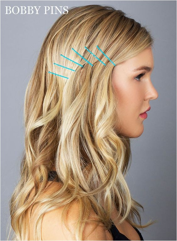 7 fun hairstyles with bobby pins