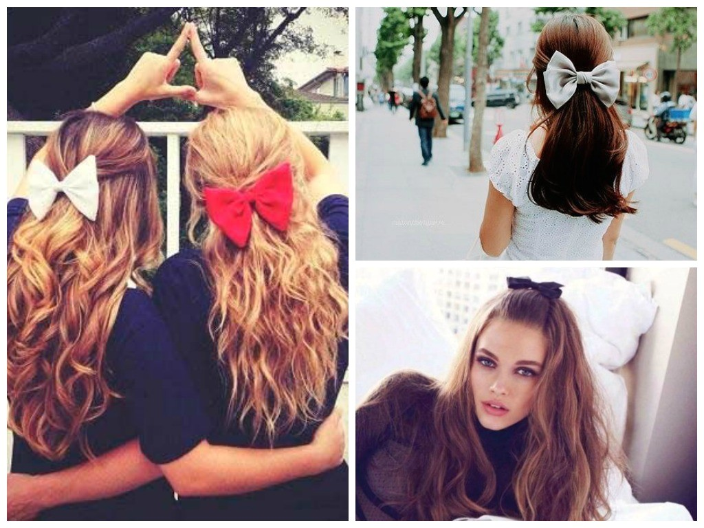 cutest ways wear bow