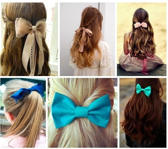 cutest ways wear bow