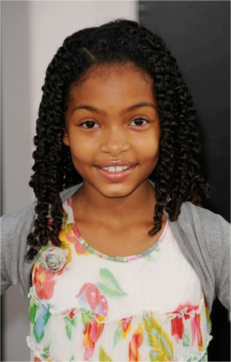 cute little black girl braided hairstyles