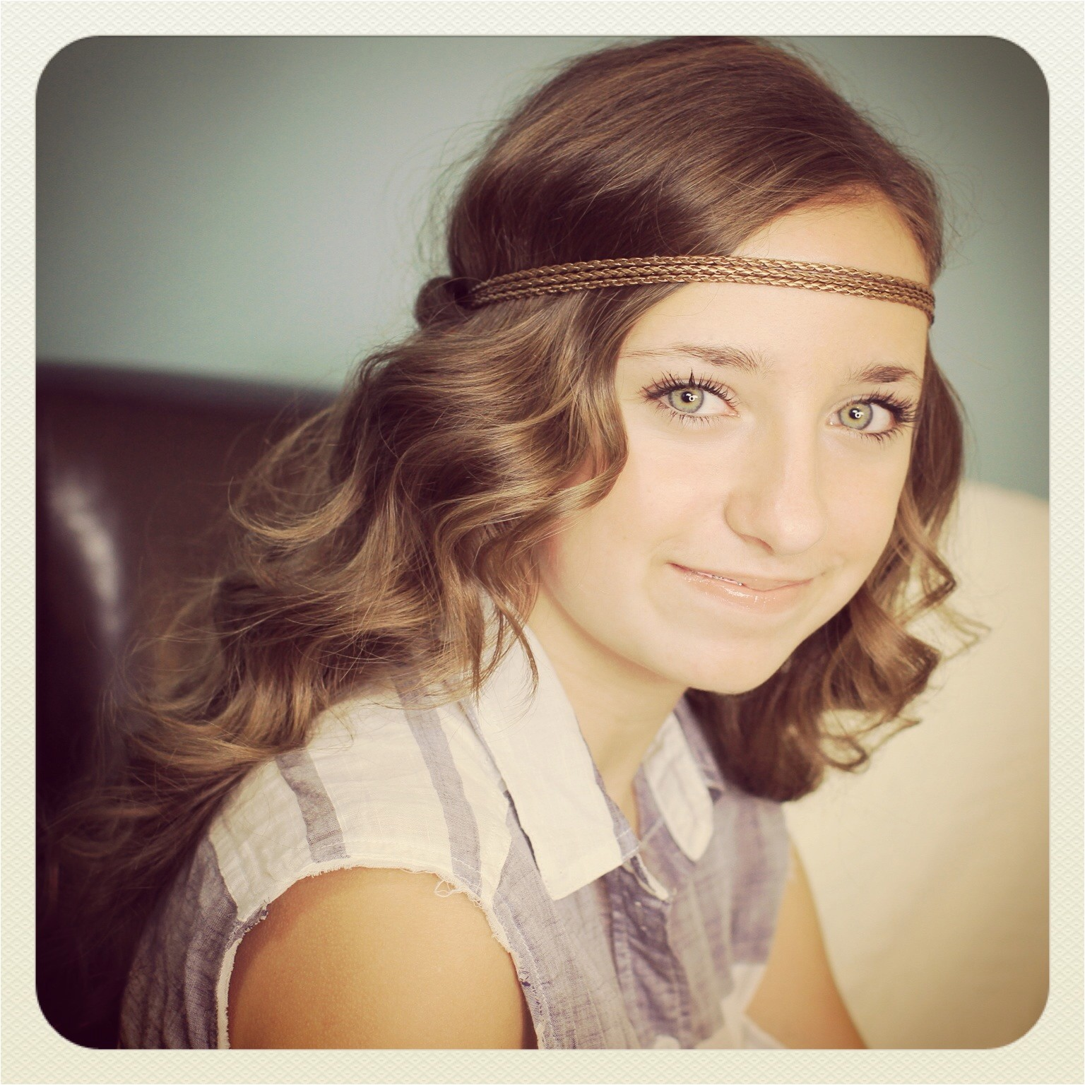 Cute Hairstyles with Headbands Headband Twist Half Up Half Down Hairstyles