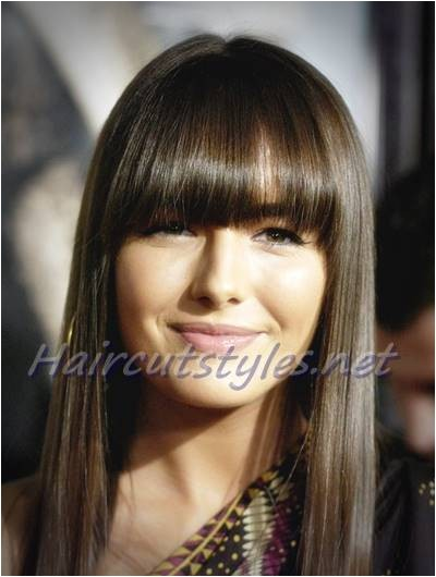 Cute Hairstyles with Straight Across Bangs Hairstyles for Straight Across Bangs Cute Hairstyles with