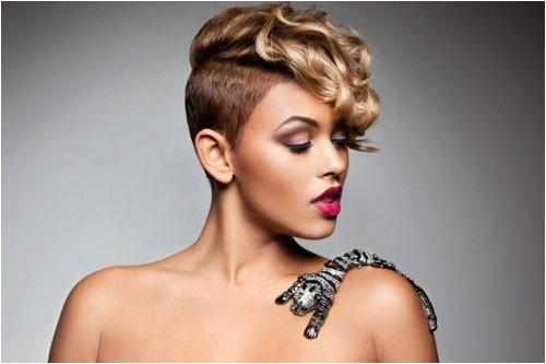 cute short haircuts for black females