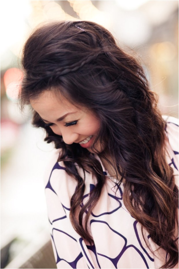 Cute Half Up and Half Down Hairstyles 16 Simple Easy Long Hairstyles for Spring Hairstyles Weekly