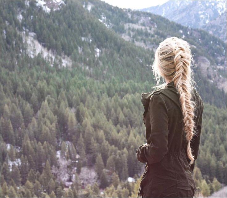 hiking hair