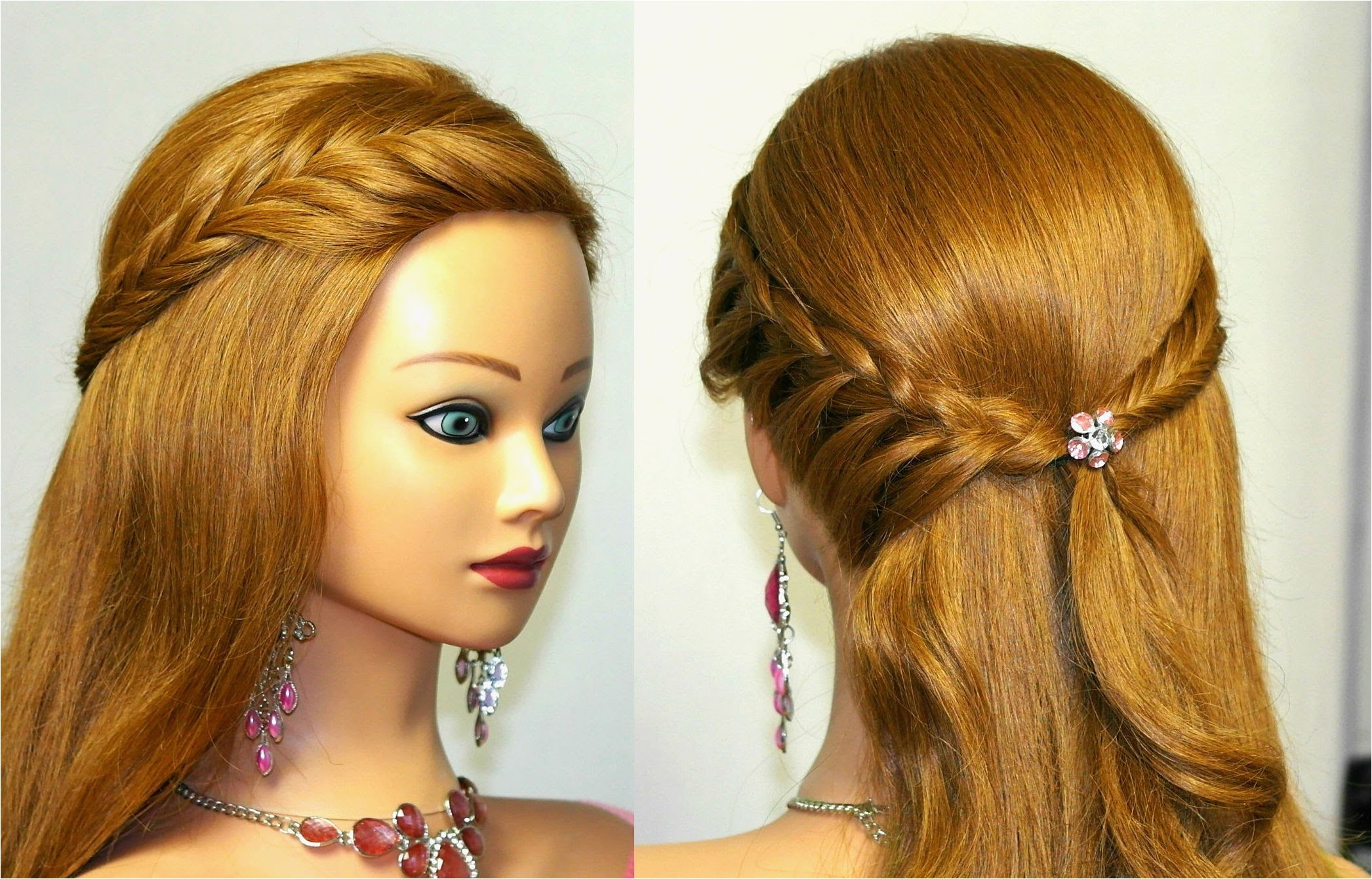 easy hairstyles for medium hair home ing
