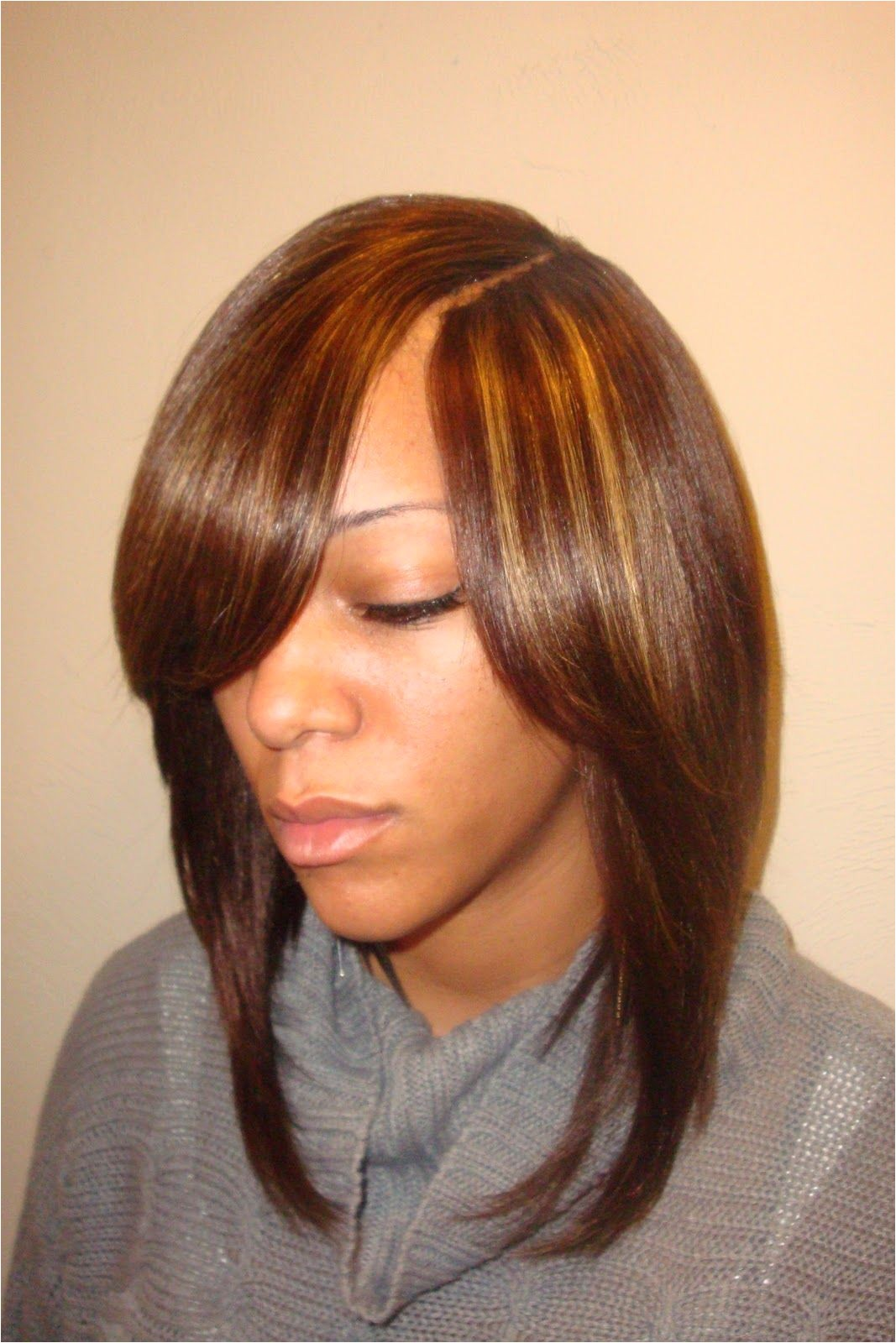 Cute Invisible Part Hairstyles 2