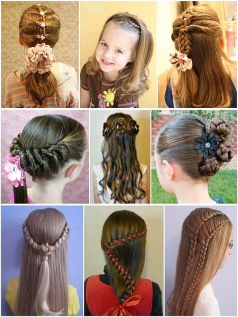 Cute Kid Hairstyles Long Hair 1