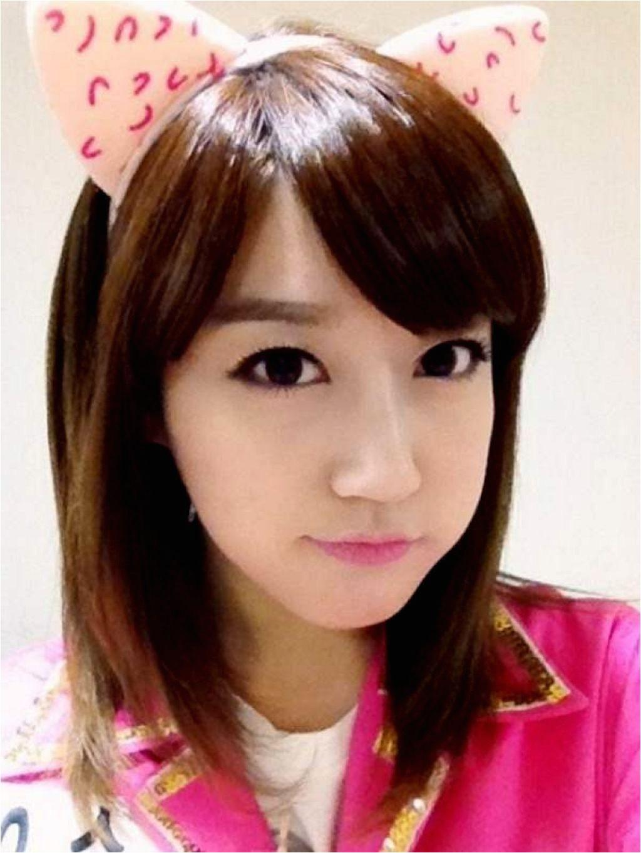 cute korean girls hairstyles