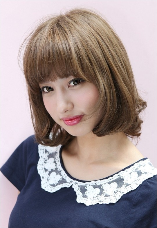 cute bob hairstyles with bangs