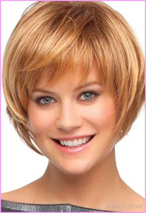 cute bob haircuts bangs