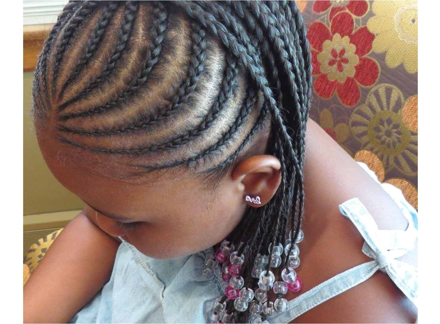 exceptional cute little girl cornrow hairstyles